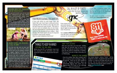 Call 811 Brochure